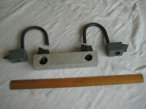 Fishing Seat Box accessories bundle bracket arm and 2 rod rests unknown maker