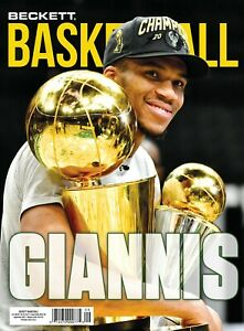 New SEPTEMBER 2021 Beckett BASKETBALL Card Price Guide Magazine With GIANNIS 727 $9.99