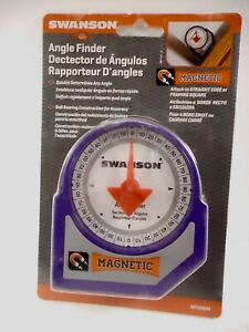 New Swanson Magnetic Angle Finder AF006M Heavy Duty Free Shipping $16.99