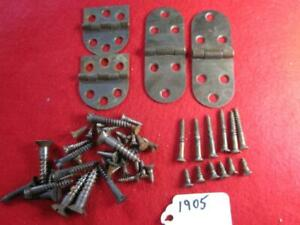 SINGER TREADLE SEWING CABINET HINGES AND SCREWS 1905 $9.99