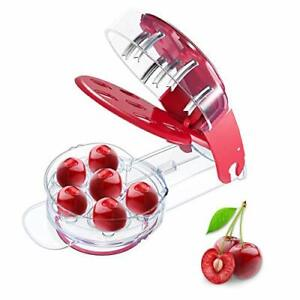 Cherry Pitter Remover Tool Cherry Stoner Seed Extractor Remover 6 Cherries