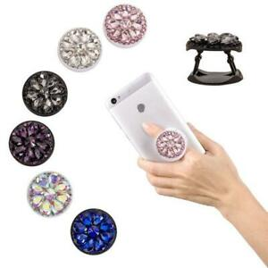 Gift Phone Holder With Finger Ring Crystal for Smartphone Universal Mount Gift $4.54