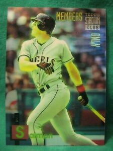 1994 Topps Members Only #47 Tim Salmon California Angels Rookie $0.99