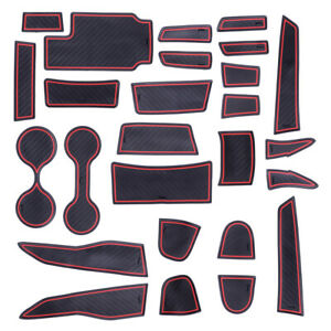 26Pcs set Cup Door Console Liner Mat Fit for GMC Canyon Chevy Colorado 2015 2021 $28.99