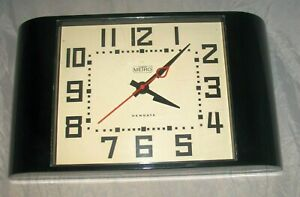quot;METROquot; STATION LARGE WALL CLOCK by NEWGATE DECO STYLE $40.00