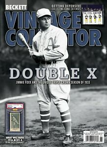 NEW Oct Nov 2021 Beckett VINTAGE COLLECTOR Price Guide with BILL RUSSELL $9.80