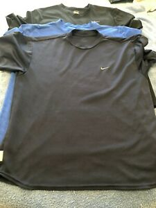 Mens Pre owned Nike Dry fit T shirts size Large Lot of 3 $29.99