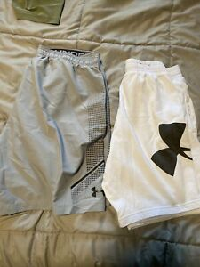 mens under armour shorts large $13.00