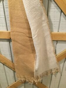 Scarf A New Day Camel Cream Solid 24x72 NWT $12.00