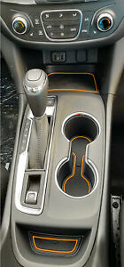 For Chevy Equinox 2018 2021 Liner Accessories Cup Holder Center Console Inserts $16.88