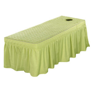 Fits 190x80cm Stationary and Portable Tables Professional Massage Table Skirt $64.48