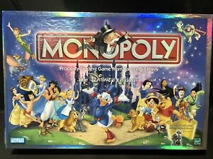 Monopoly The Disney Edition 40224 Board Game Open Box Mint Condition Played Once $33.99