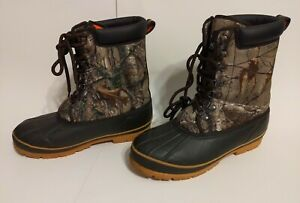 Magellan Outdoors Non Insulated Rubber Hunting Boots Camouflage Men#x27;s 9