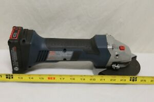 Bosch Angle Grinder CAG180 with Battery Excellent Condition C2 $105.59