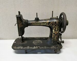 The Improved Eldredge Rotary Antique Sewing Machine Head $50.00
