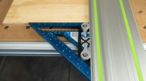 DIY Kit Guide Rail Square Adapter For Festool and Makita Track Saw Guide Rails $35.00