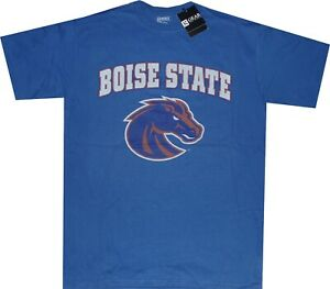 Boise State Broncos Arch Faded Logo by Gear For Sports T Shirt New tags Discount