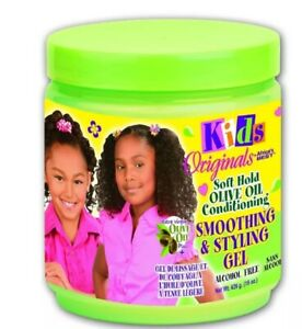 Africa`s Best Kids Olive Oil Smoothing Styling Gel 15oz