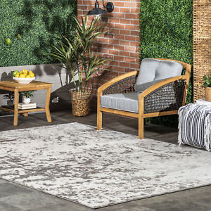 nuLOOM Meaghan Contemporary Abstract Area Rug in Grey $121.67