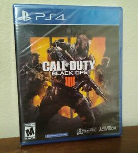 Call of Duty: Black Ops 4 Sony PlayStation 4 Brand New Unopened