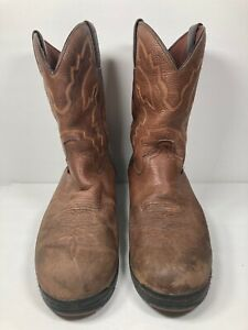 JUSTIN Work Boots Roper in Waterproof Leather #9024 Size 10D