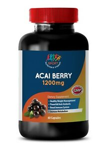 acai berry capsules Acai Berry 1200mg brain booster supplement 1 Bottle $15.95