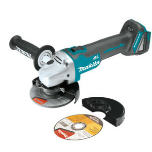 Makita XAG04Z 18 Volt 5 Inch Brushless Cordless Cut Off Angle Grinder Bare Tool $109.00