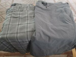 2 Pairs Under Armour Golf Shorts size 46 $30.00