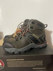 red wing irish setter work women boot 6quot; Crosby Safety Toe Ultra Dry Size 6