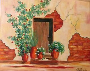 """Original Oil Painting on Canvas Home Decor Wall Art 11""""x14"""" $95.00"""