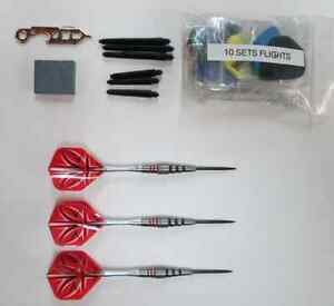 Bottelsen ABSTRACT-2 19g 90% Tungsten Steel Tip Dart Set darts flights shafts