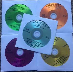 5 CDG KARAOKE LOT - R&B MOTOWN SOUL CLUB PACK $79.99 *SALE*