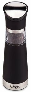 New Electric Pepper Mill Grinder Adjustable Refillable Refill Mills Kitchen Mil