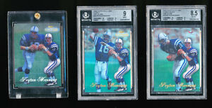 11 PEYTON MANNING 1998 TOPPS GOLD LABEL CLASS 1 2 3 ONE TO ONE ALL 3 EDITIONS
