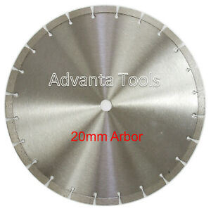 "14"" Diamond Saw Blade for Brick Block Concrete Masonry Pavers Stone 20MM Arbor"