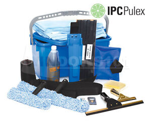 Pulex Super Starter Window Cleaning Washing Kit Squeegees & More - FREE SHIP!