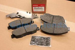 Genuine OEM Honda Accord 4 Cylinder Front Brake Pad Set 1990-1997