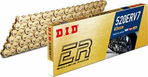 DID ERV 7 520 X 120 Link X Ring Gold Motorcycle Chain Off Road Racing Motocross $138.95