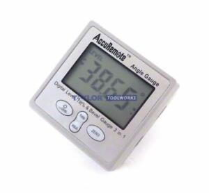 Accuremote Angle Cube Digital Angle Protractor Inclinometer Electronic Gauge $28.99