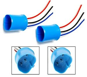 Wire Pigtail Male 9004 HB1 Two Harness Head Light Replace Plug Connector Lamp