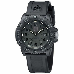 EMS ! Luminox Colormark Navy Seals 3051 BO Blackout Sports Divers Watch NEW EMS