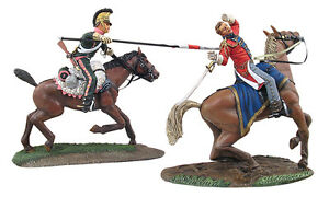 W Britain The Death Of Ponsonby British Major General & French 3rd Lancer 36085