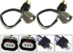 Conversion Wire 9003 HB2 H4 TO 9008 H13 Two Harness Head Light Bulb Connector OE