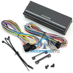 ALPINE KTP445A 4-CHANNEL 360W MAX CLASS D AMPLIFIER for ALPINE CAR STEREO RADIO