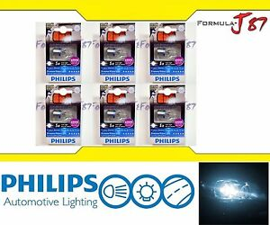 Philips X-Treme Vision LED 921 T15 White 6000K 3W Six Bulbs Replacement Light