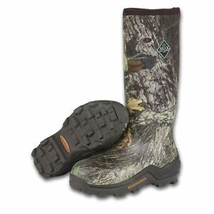 Muck Mens Woody Elite Camo Insulated Hunting Rubber Boots Under Armour Size 5-15