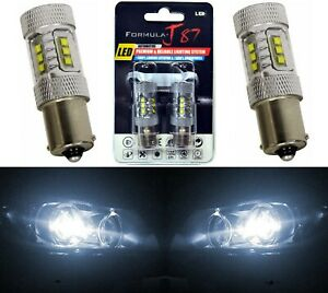 CREE LED Miniature 80W 1156 S25 BA15s Red Ten Bulbs Replacement Light Upgrade
