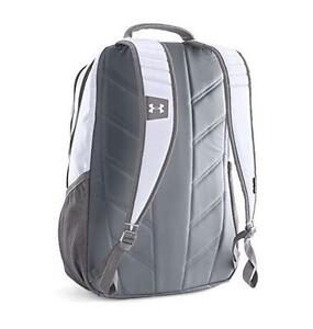 NEW Under Armour Hustle II Backpack Multipurpose Durable One Size - ( White )