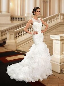 Wedding dresses #0001 Sizes 2-20 white
