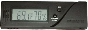 Caliber IV Digital Home Hygrometer Calibration Capable Western NEW $34.99